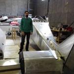 مراحل مونتاژ هواپیمای ساوانا